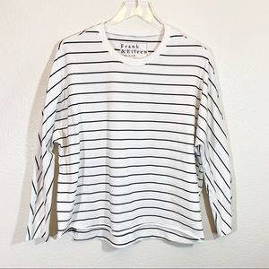 Frank & Eileen Tee Lab striped long sleeve t shirt